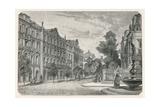 The Bahnhofstrasse (Railway Street), Zurich Giclee Print