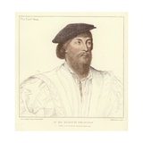 Thomas Vaux, 2nd Baron Vaux of Harrowden Giclee Print by Hans Holbein the Younger