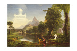 The Voyage of Life: Youth, 1842 Giclée-tryk af Thomas Cole