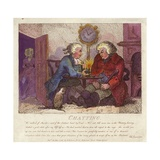 Chatting from Boswell's Hebridean Journey Giclee Print by Thomas Rowlandson