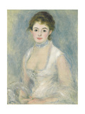 Madame Henriot, C.1876 Giclee Print by Pierre-Auguste Renoir