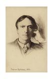 Self Portrait of British Artist Hubert Herkomer Giclée-Druck von Hubert von Herkomer