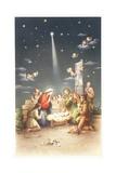 French Christmas Card Giclee Print