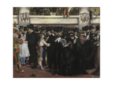 Masked Ball at the Opera, 1873 Giclee Print by Édouard Manet