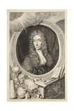 Portrait of the Hon. Robert Boyle, Illustration from 'Heads of Illustrious Persons of Great… Giclee Print by Jacobus Houbraken