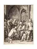 "Circumcision, from the Series ""The Life of the Virgin"", 1593/94 Giclee Print by Hendrik Goltzius"