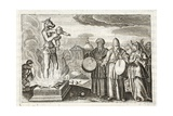 Beware, O Men!, Illustration from 'Emblemata of Zinne-Werk' by Johannes De Brune (1589-1658), Jan… Giclée-Druck von Adriaen Pietersz van de Venne
