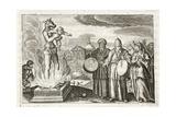 Beware, O Men!, Illustration from 'Emblemata of Zinne-Werk' by Johannes De Brune (1589-1658), Jan… Giclée-Druck von Adriaen Pietersz van de Venne