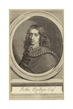 John Evelyn Impression giclée par Robert Nanteuil