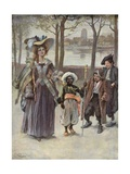 My Lady's Protector Giclee Print by Gordon Frederick Browne