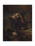 The Apostle Paul, C.1657 Giclée-tryk af Rembrandt van Rijn