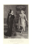 Viola and Olivia, Twelfth Night, Act I, Sc V Giclee Print by Charles Green