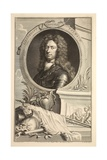 Portrait of Lieutenant General Talmash, Illustration from 'Heads of Illustrious Persons of Great… Giclee Print by Jacobus Houbraken