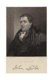 Sir John Leslie Giclee Print by Alexander Chisholm