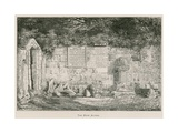 Dryburgh Abbey, the High Altar Giclee Print by Alexander Francis Lydon