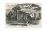 Dryburgh Abbey, from the South-East Giclee Print by Alexander Francis Lydon
