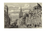 Oxford Illustrated Giclee Print