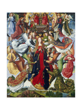Mary, Queen of Heaven, C. 1485- 1500 Giclee Print by  Master of the Legend of St. Lucy
