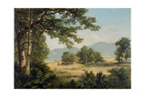 Catskill Meadows in Summer, 1861 Giclee Print by Asher Brown Durand