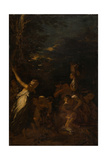 The Nurture of Jupiter, C.1659 Giclee Print by Salvator Rosa