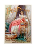 Advertisement for 'Pears' Soap', 1898 Giclee Print