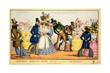 Modern Peeping Tom's Who Deserve to Be Sent to Coventry, C.1829 Giclee Print by William Heath