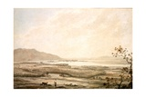 Killarney from the Hills Above Muckross Reproduction procédé giclée par William Pars