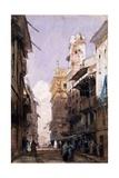 Corso Saint Anastasia, Verona Giclee Print by Richard Parkes Bonington