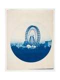 Ferris Wheel, from the Series of the Chicago World's Fair 1893, 1893 Giclee-vedos tekijänä Albert W. Kendall