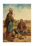 The Smokers, 1856 Giclee Print by John Dalbiac Luard