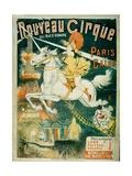 Nouveau Cirque, 1889 Lámina giclée