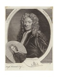 Sir Christopher Wren and Hugh Howard Giclee Print by Sir Godfrey Kneller