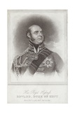 Portrait of Prince Edward; Duke of Kent and Strathearn Giclee Print by Sir William Beechey