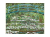 The Japanese Footbridge, 1899 Giclee Print by Claude Monet