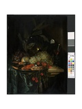 Still Life with Crayfish, C.1655 Giclee Print by Pieter De Ring