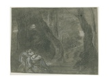 Rest on the Flight into Egypt Giclee Print by Richard Wilson