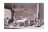 Form of Billiards Played in France, Mid 18th Century Giclee Print