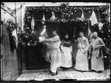 Butchers, France, C.1930 Reproduction photographique