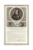 Portrait of Antoine Quentin Fouquier De Tinville Giclee Print by Jean Duplessi-Bertaux
