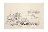 French Carfusiers Advanced to the Mouth of Our Cannon, Pub. J. Booth, 1816 Giclee Print by George Jones