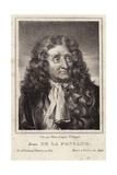 Portrait of Jean De La Fontaine Giclee Print by Hyacinthe Rigaud