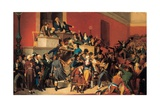 Le 9 Thermidor (The Arrest of Robespierre 27 July 1794) Giclee Print by Raymond Quinsac Monvoisin