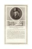 Portrait of Francois De Charette Giclee Print by Jean Duplessi-Bertaux