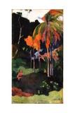 Mahana Ma'A, 1892 Impression giclée par Paul Gauguin