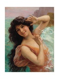 The Water Nymph Giclee Print by Francois Martin-kavel