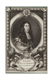 Portrait of Henry Stuart, Duke of Gloucester Lámina giclée por George Vertue