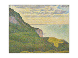 Seascape at Port-En-Bessin, Normandy, 1888 Giclee Print by Georges Pierre Seurat