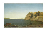 Beacon Rock, Newport Harbour, 1857 Giclee Print by John Frederick Kensett