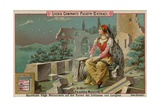 Melusine Among the Ruins Giclee Print