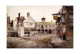 The Market Place, Ross, Hertfordshire, 1803 Giclée-Druck von Cornelius Varley